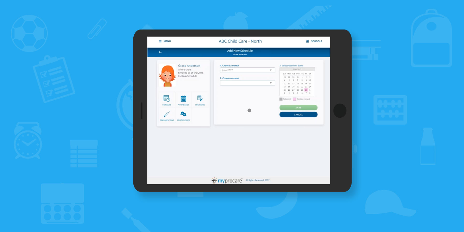 MyProcare Parent Scheduler