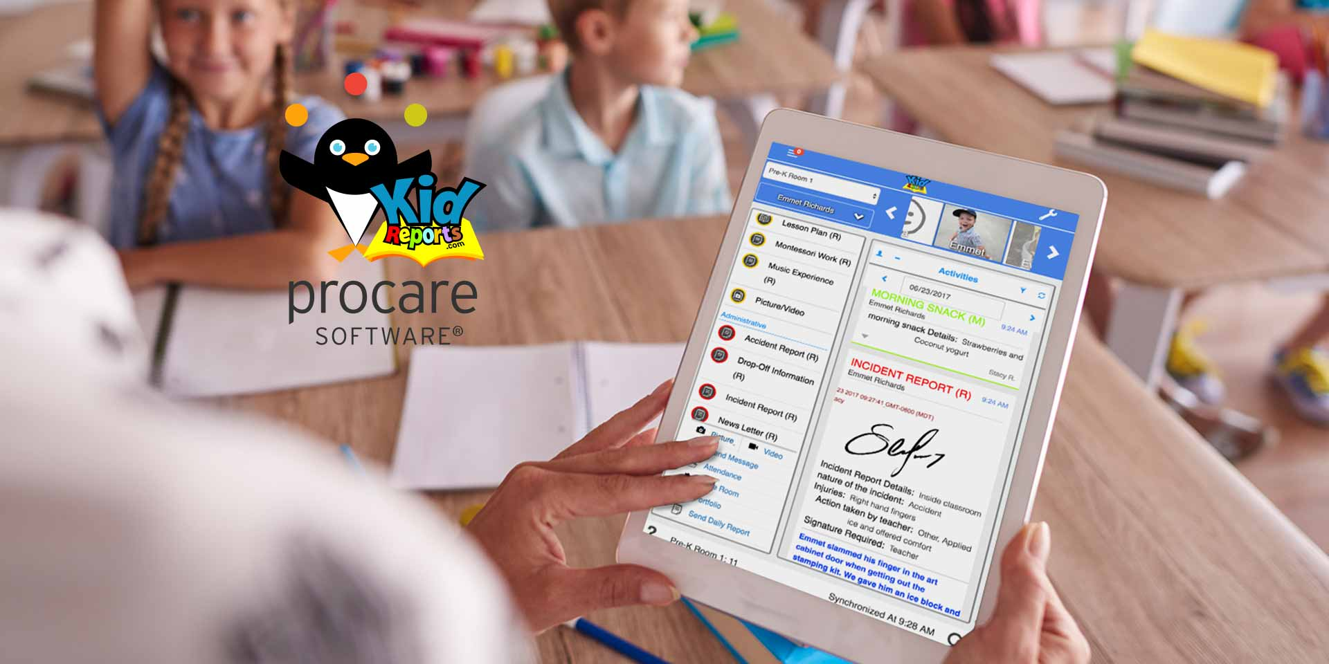 Procare Software - KidReports Classroom Management and Parent Engagement